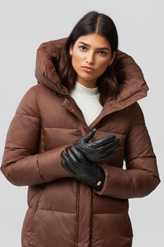 Shoptiques Product: Nicole Leather Gloves With Tech-Friendly Tips