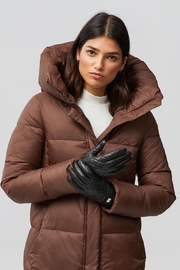 Soia & Kyo Nicole Leather Gloves With Tech-Friendly Tips - Product Mini Image