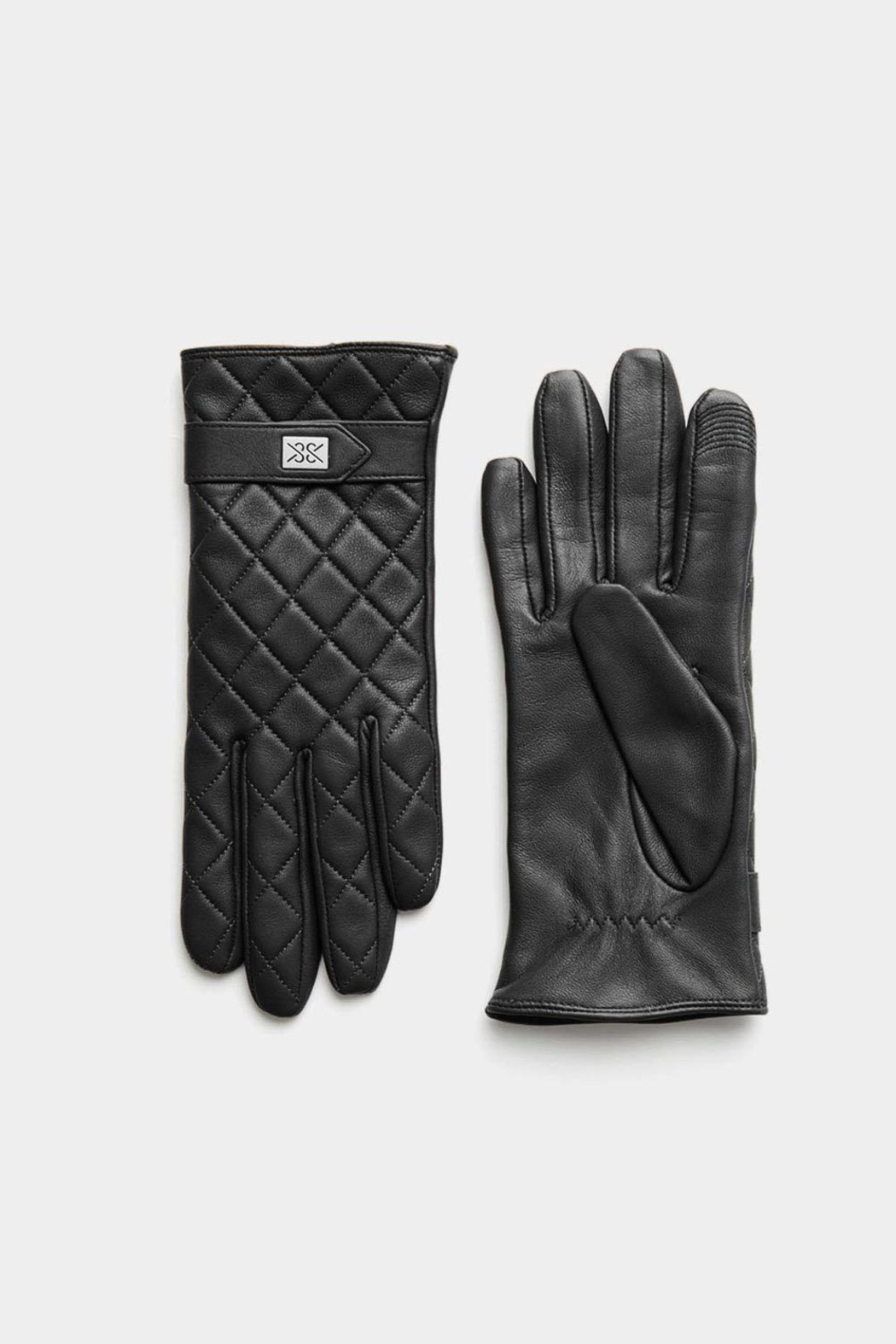 Soia & Kyo Nicole Leather Gloves With Tech-Friendly Tips - Side Cropped Image