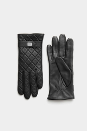 Soia & Kyo Nicole Leather Gloves With Tech-Friendly Tips - Side cropped