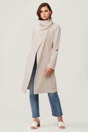 Soia & Kyo Ornella Draped Trench - Back cropped