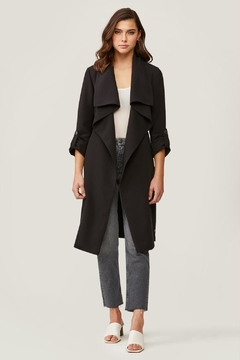 Soia & Kyo Ornella Draped Trench - Product List Image