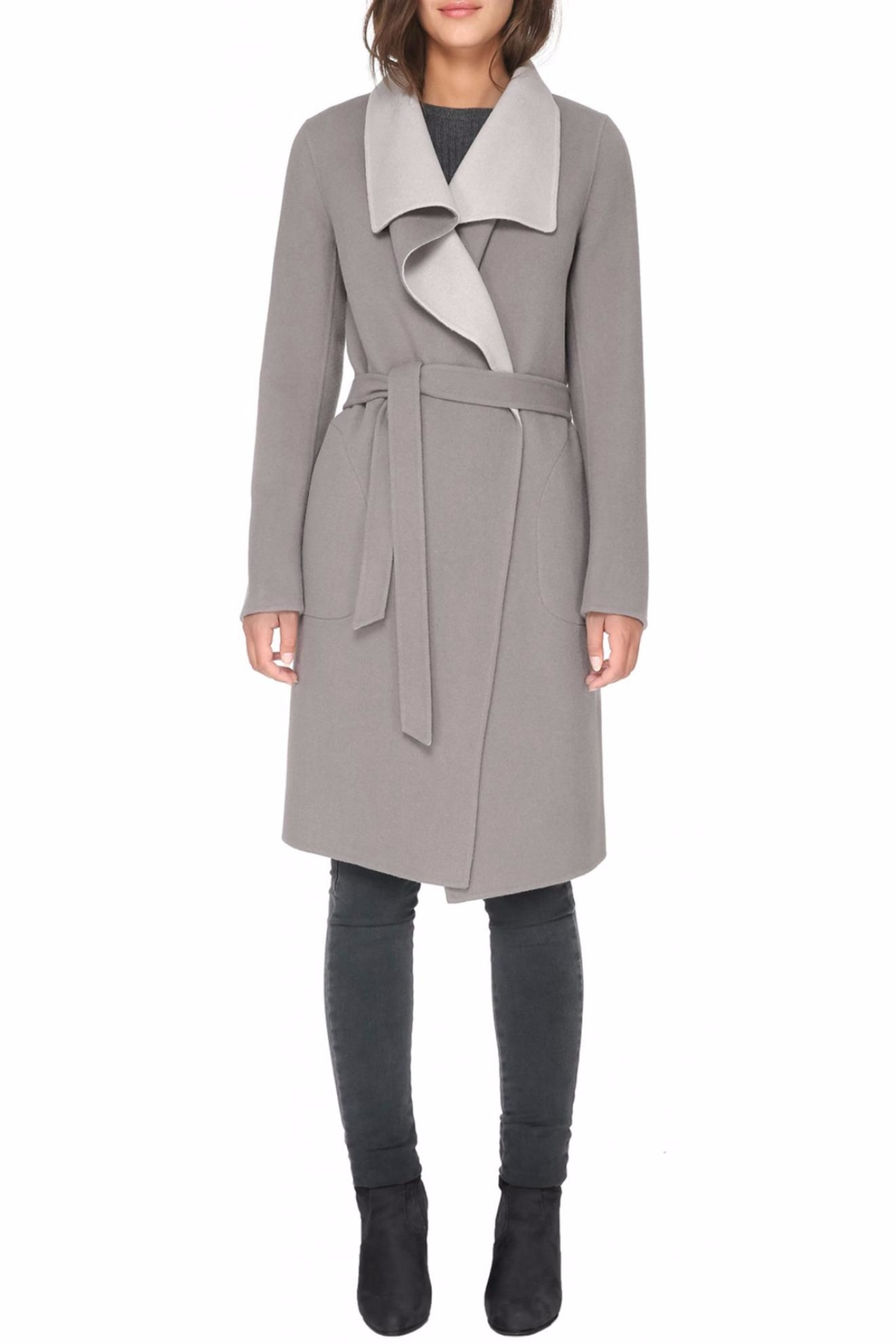 Soia & Kyo Oxana Wool Coat - Front Cropped Image
