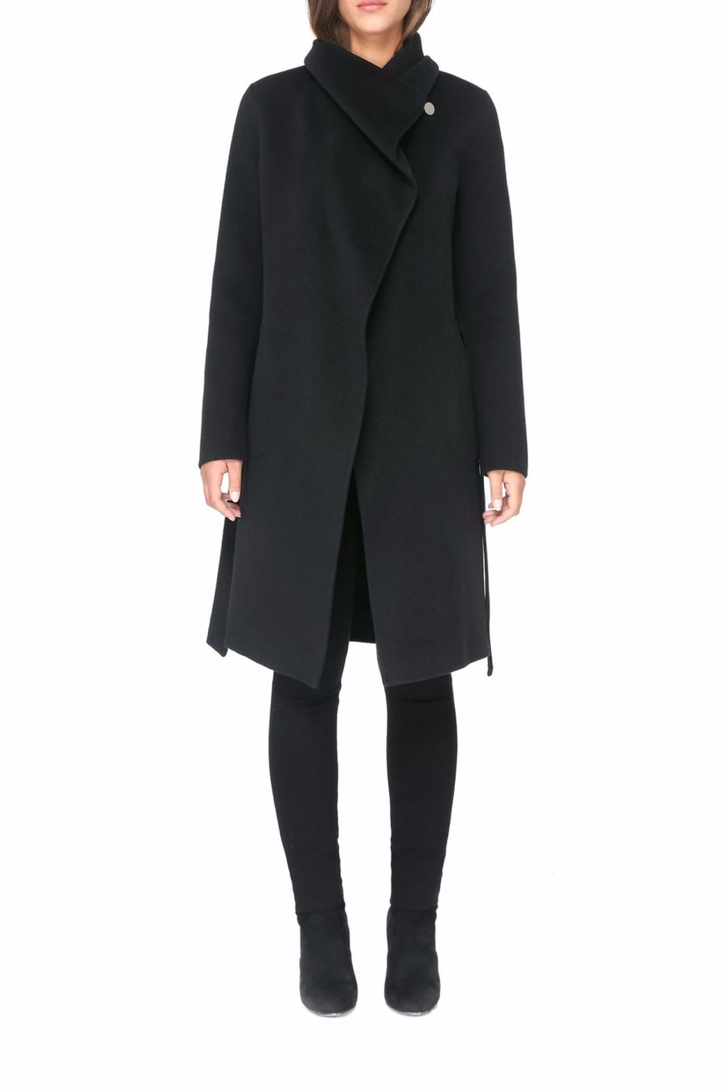 Soia & Kyo Oxana Wool Coat - Side Cropped Image