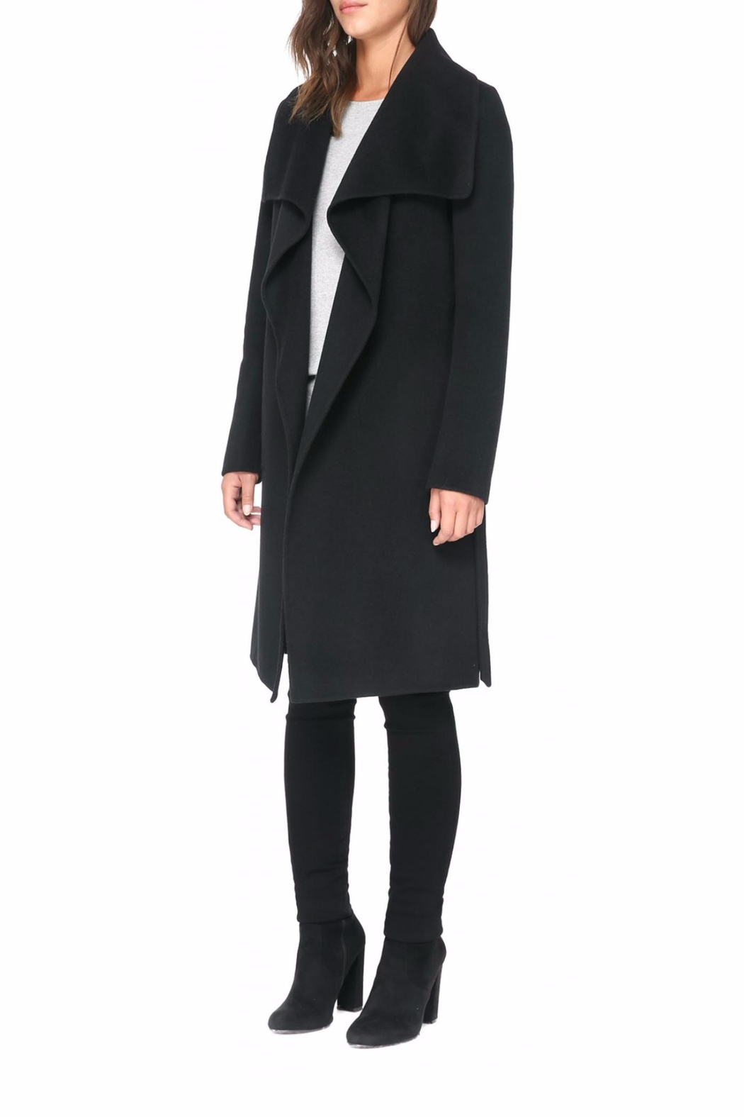 Soia & Kyo Oxana Wool Coat - Back Cropped Image