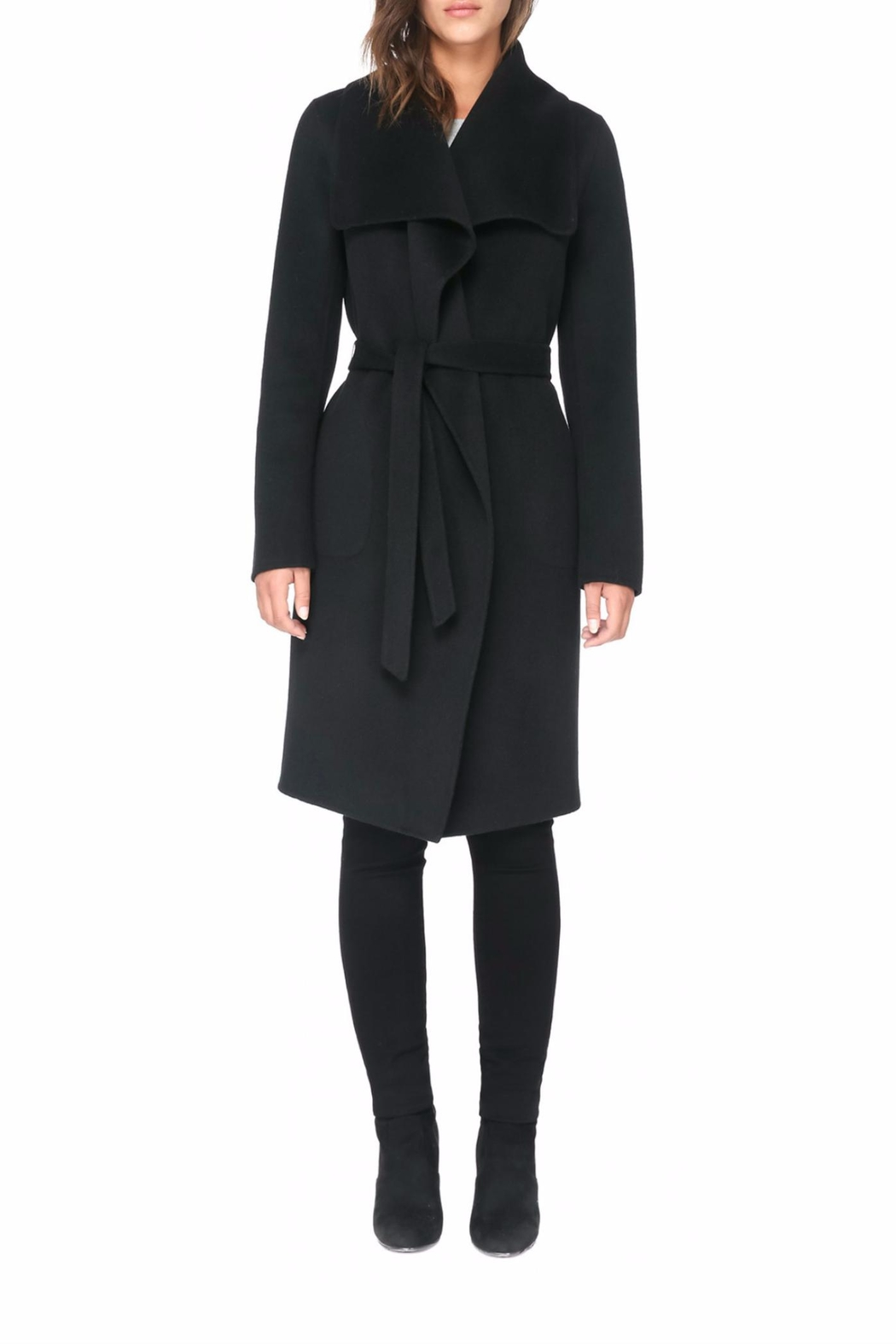 Soia & Kyo Oxana Wool Coat - Main Image