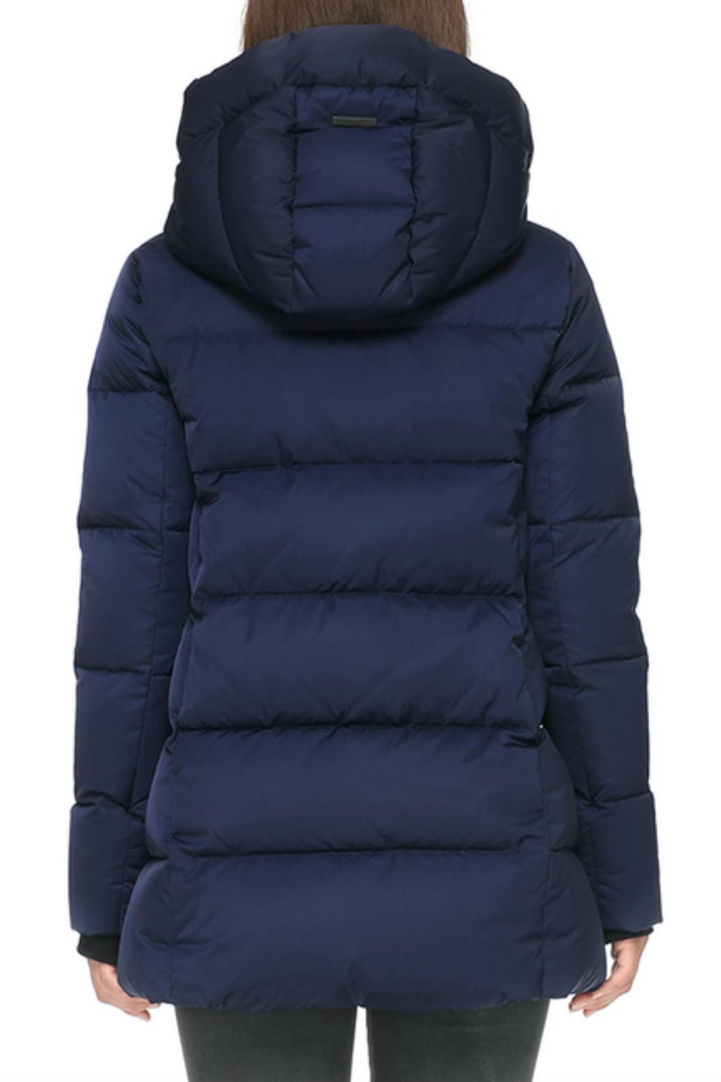 Soia & Kyo Rachelle Down Jacket - Back Cropped Image