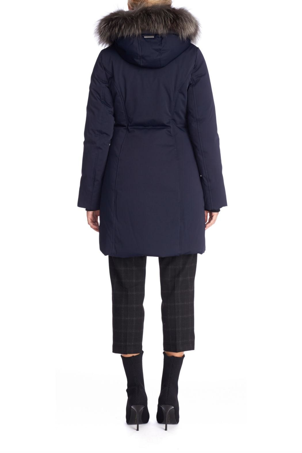 Soia & Kyo Salma Fx Down Coat - Side Cropped Image