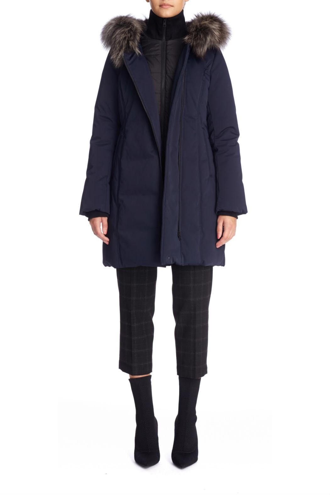 Soia & Kyo Salma Fx Down Coat - Back Cropped Image