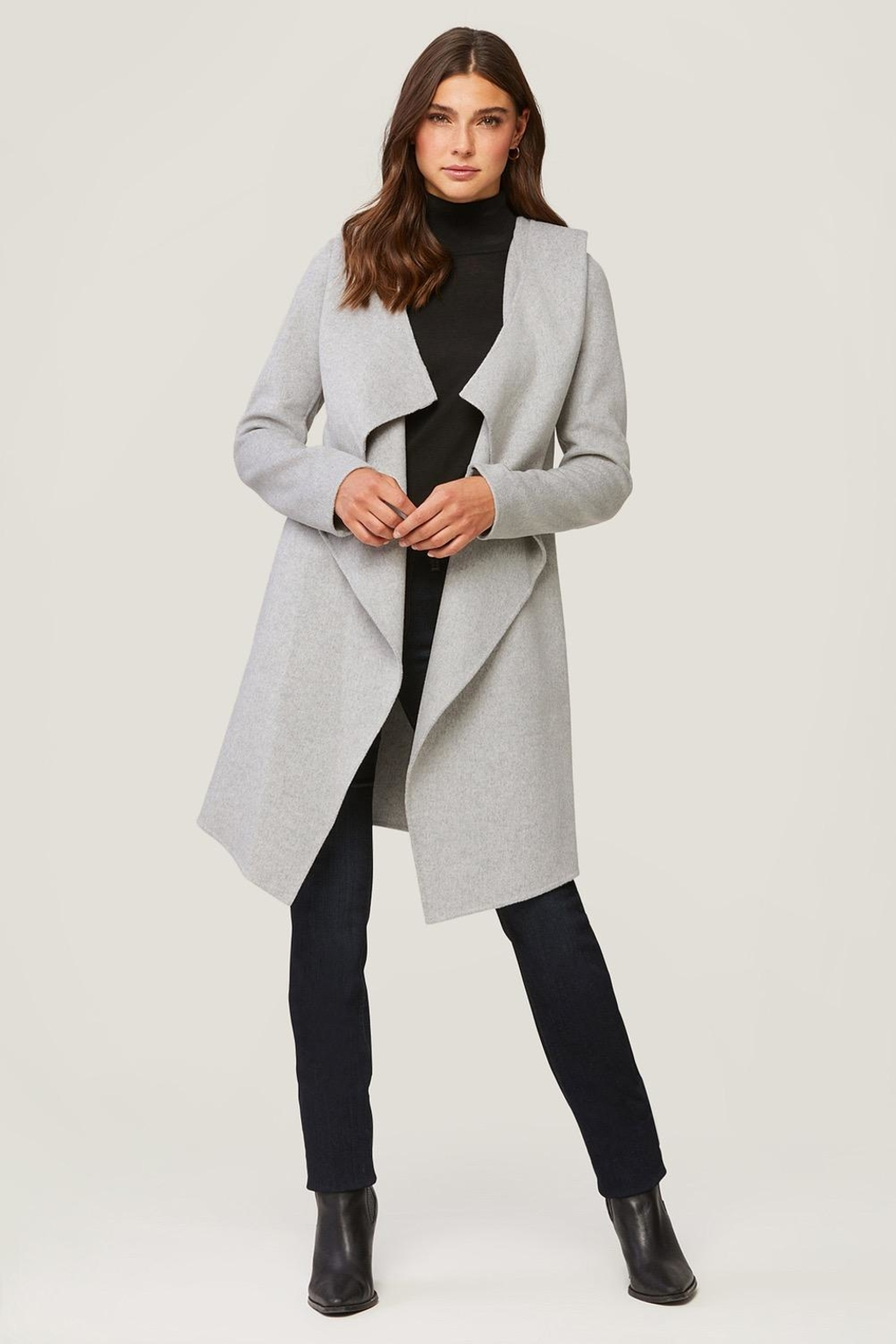 Soia & Kyo Samia Wool Coat - Front Cropped Image