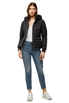 Shoptiques Product: Soia & Kyo Chalee Ladies Hooded Light Down Jacket