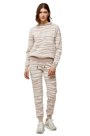Soia & Kyo Leila Ladies Zebra Print Sweater - Product Mini Image