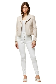 Soia & Kyo Victoria Ladies Leather Jacket - Front cropped