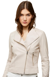 Soia & Kyo Victoria Ladies Leather Jacket - Back cropped