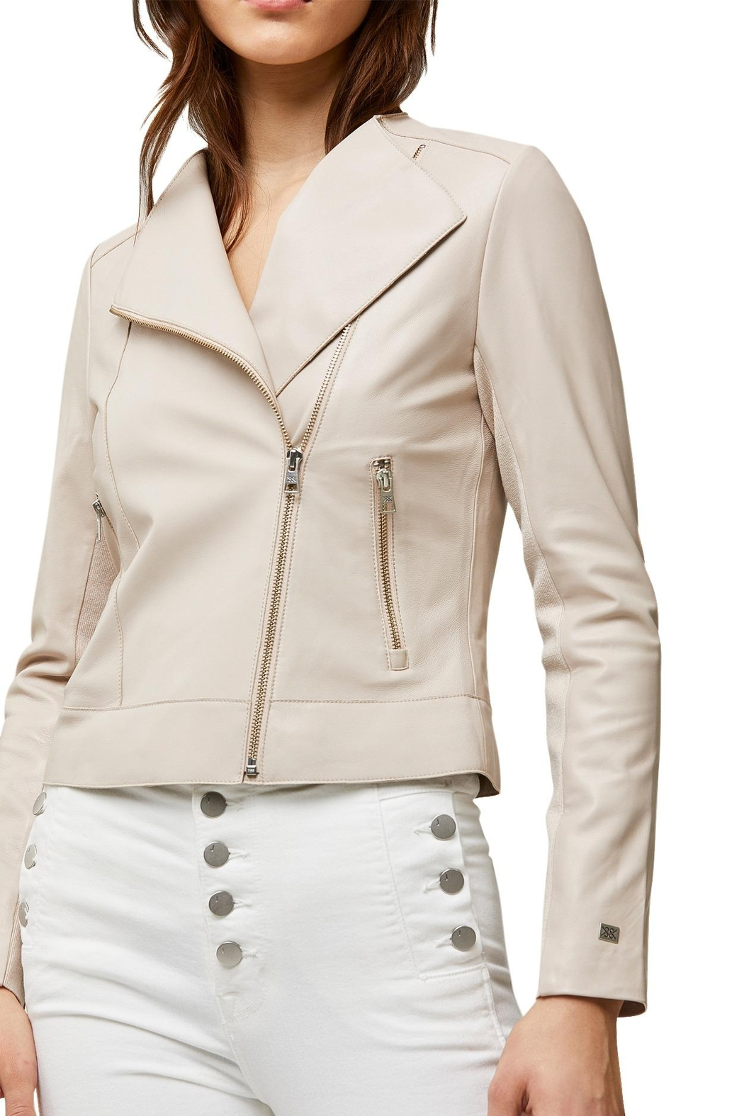 Soia & Kyo Victoria Ladies Leather Jacket - Side Cropped Image