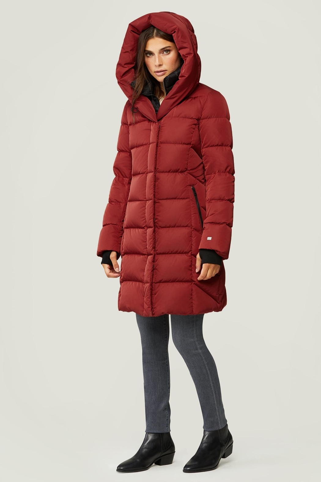 Soia & Kyo Sonny Down Coat - Side Cropped Image
