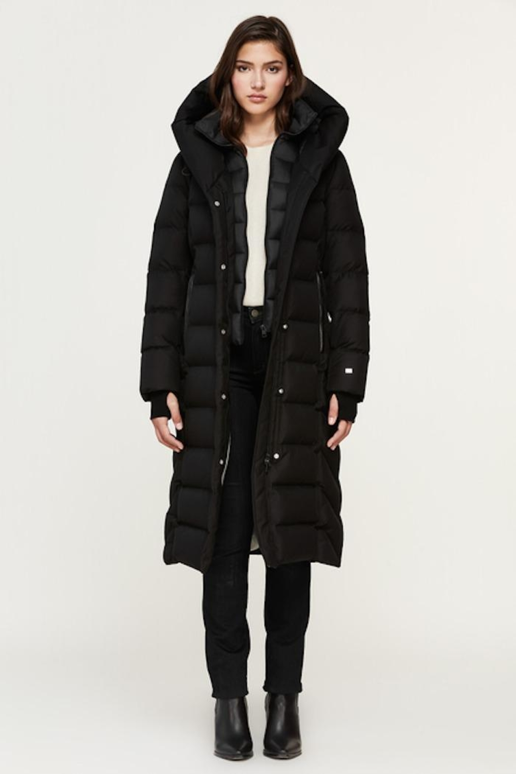 Soia & Kyo Talyse Down Parka - Side Cropped Image