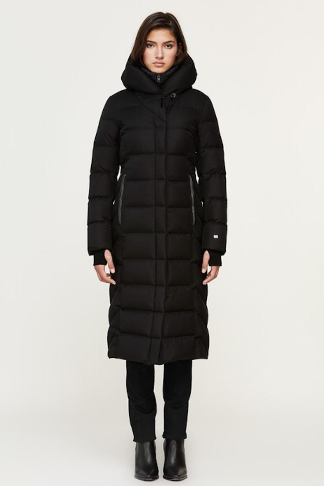 Soia & Kyo Talyse Down Parka - Front Cropped Image