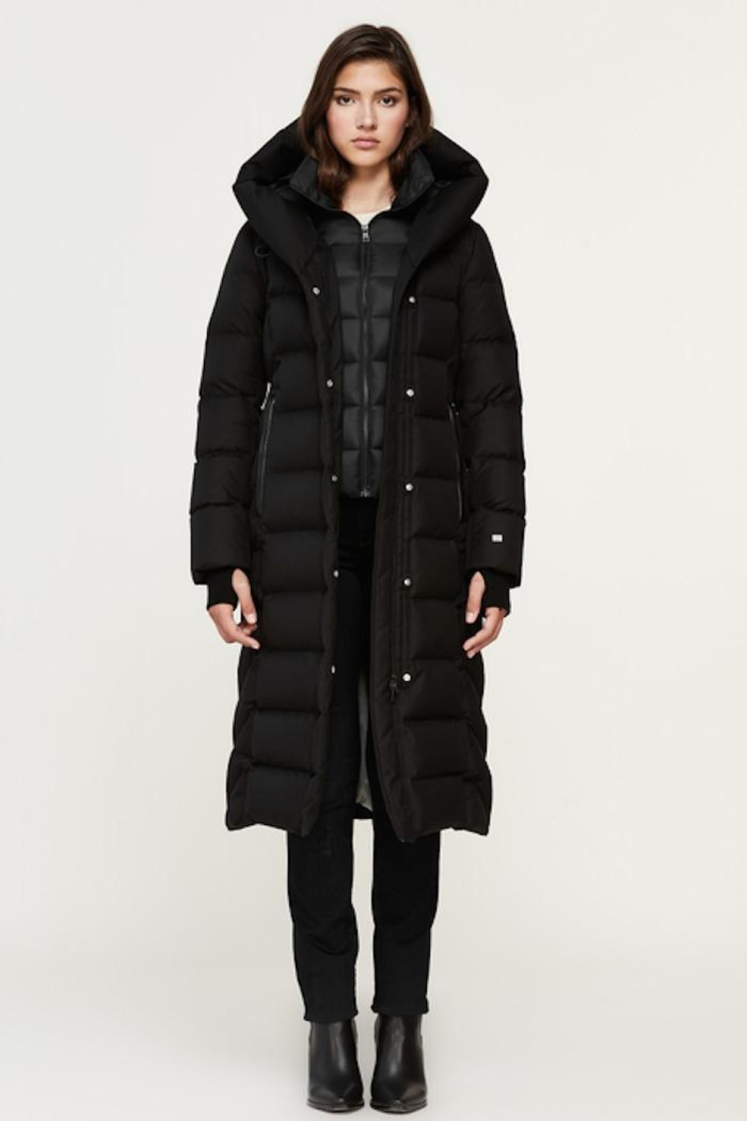 Soia & Kyo Talyse Down Parka - Front Full Image