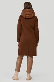 Soia & Kyo Viola-N Double-Face Chestnut Wool Coat - Other