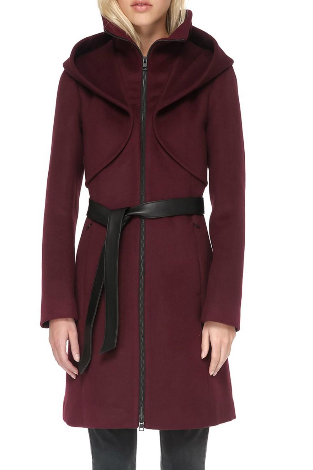 Soia & Kyo Wool Coat - Front Cropped Image
