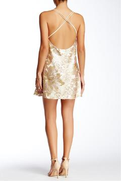 Soieblu Beige Sequins Dress - Alternate List Image