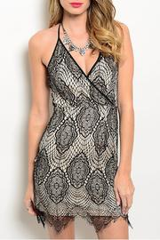 Soieblu Crochet Halter Dress - Product Mini Image