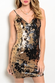 Soieblu Iris Sequins Dress - Front cropped