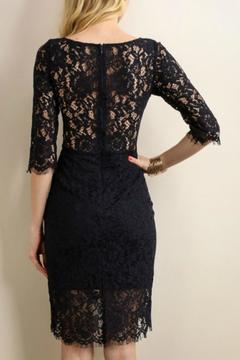 Soieblu Navy Lace Dress - Alternate List Image