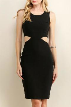 Soieblu Noir Cutout Dress - Product List Image
