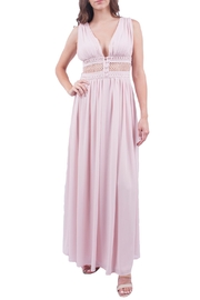 Soieblu Blush Maxi Dress - Front cropped