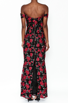 Soieblu Rose Embroidered Gown - Alternate List Image