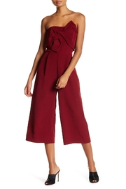 Soieblu Strapless Cropped Jumpsuit - Front cropped