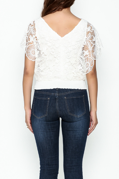 Soieblu White Lace Top - Alternate List Image