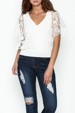 Soieblu White Lace Top - Product List Image