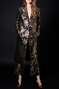 Smythe Soire Brocade Coat - Product List Image
