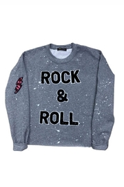 Sojara Vintage Rock And Roll Sweatshirt - Product Mini Image