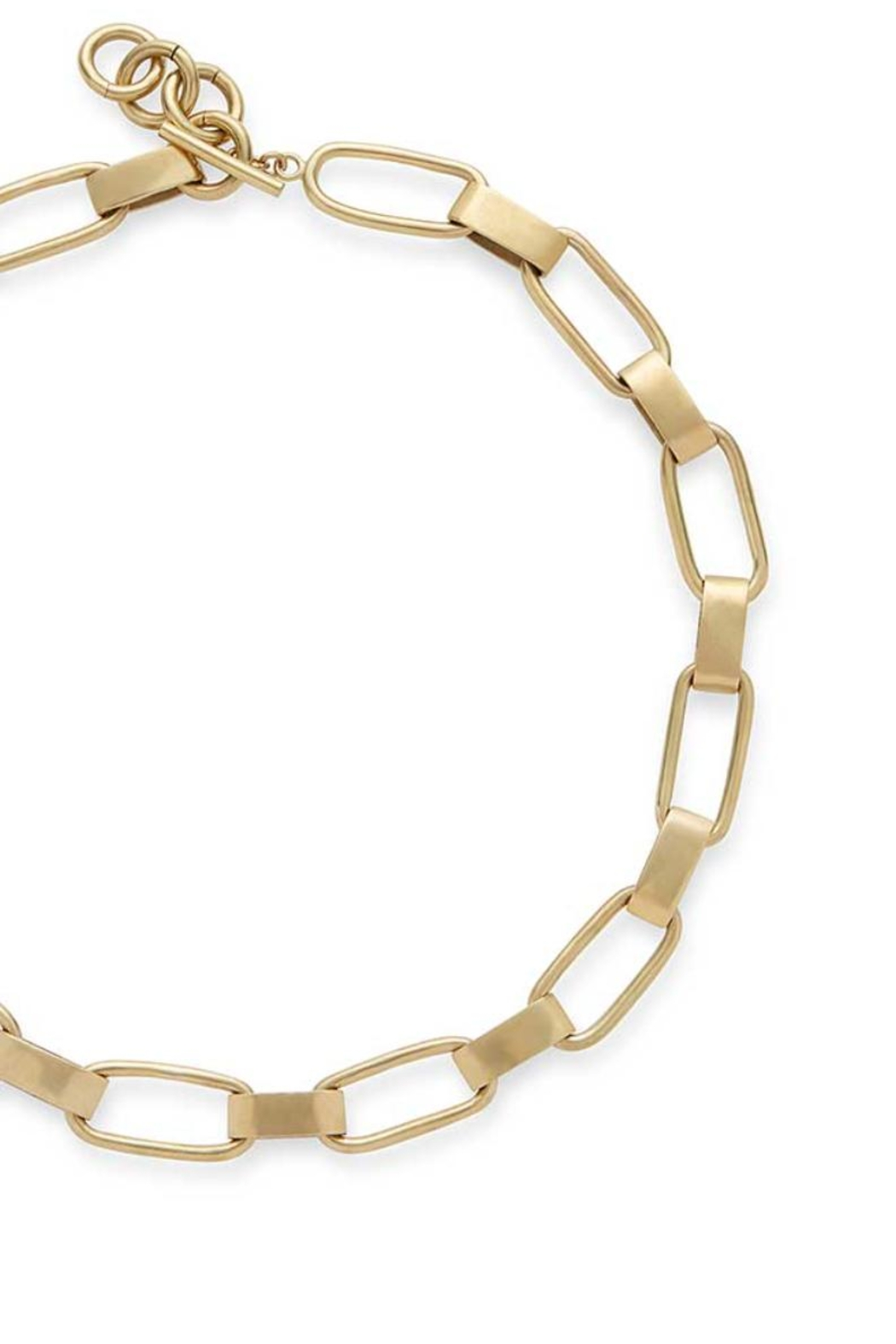 SOKO Chunky Link Necklace - Side Cropped Image