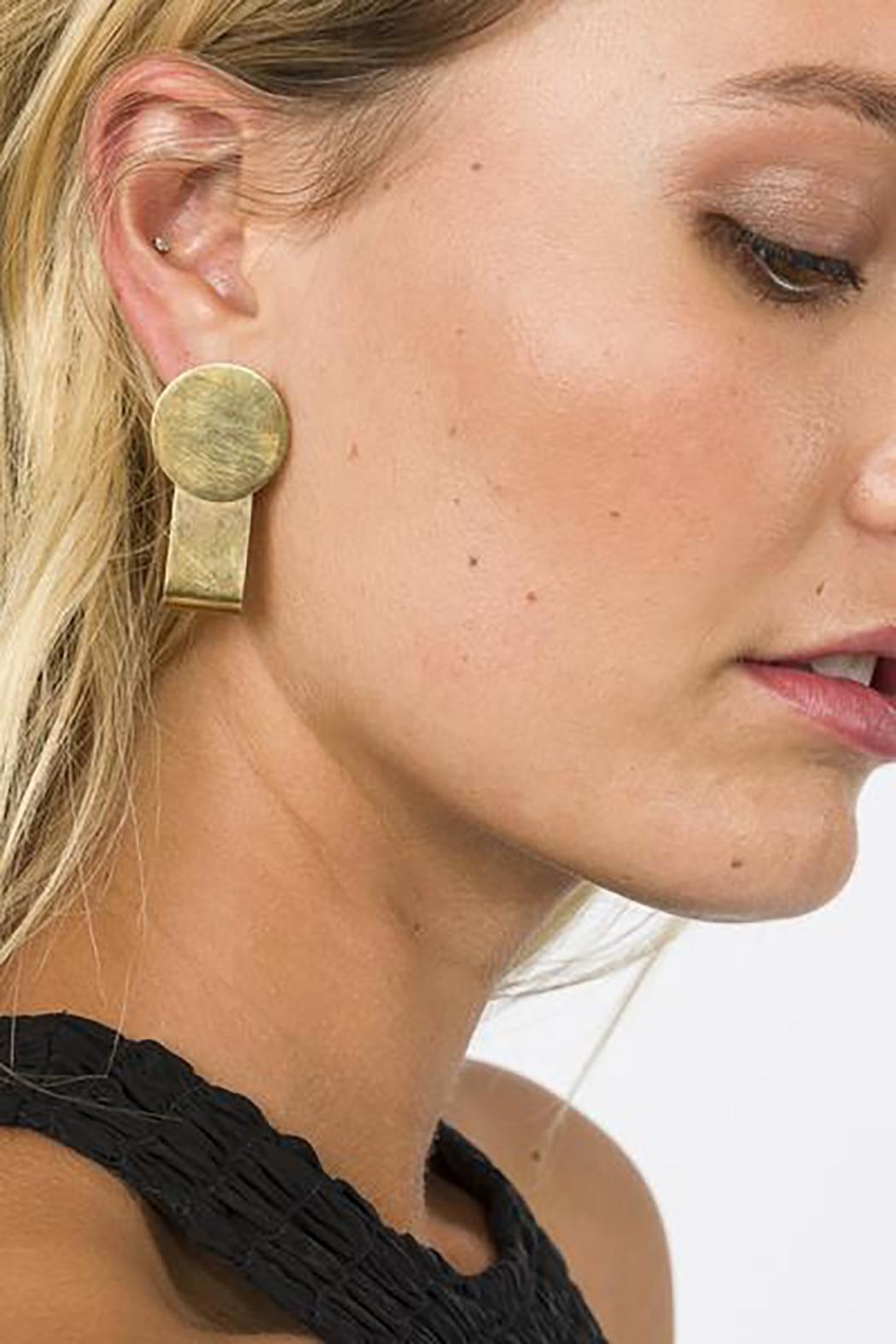 SOKO Coin Wrap Earings - Front Cropped Image