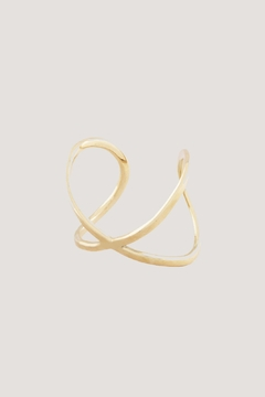 SOKO Infinity Cuff Brass - Alternate List Image