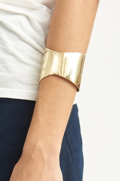 SOKO Organic Flex Cuff Brass - Alternate List Image