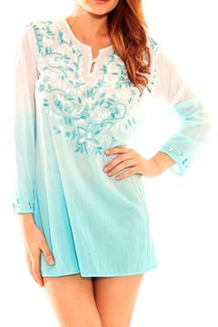 Shoptiques Product: Embroidered Beach Tunic