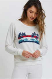 Sol Angeles SOL PALM WAVES PULLOVER - Product Mini Image