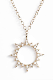 BRACHA Sol Pendant Necklace - Product Mini Image