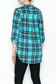 SOL Plaid Top - Back cropped