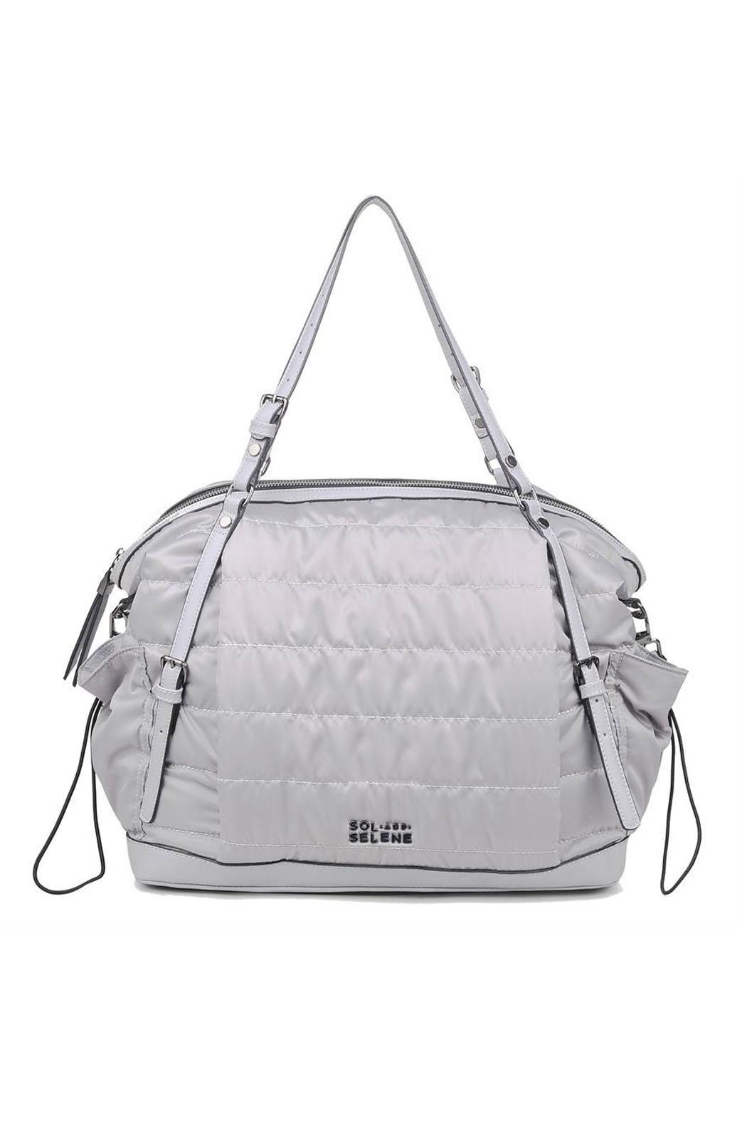 Sol and Selene Rain Check Tote - Front Cropped Image