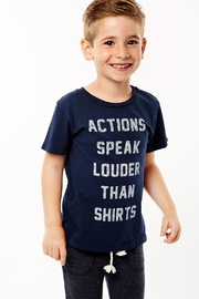 Sol Angeles Actions Speak Louder Tee - Front cropped