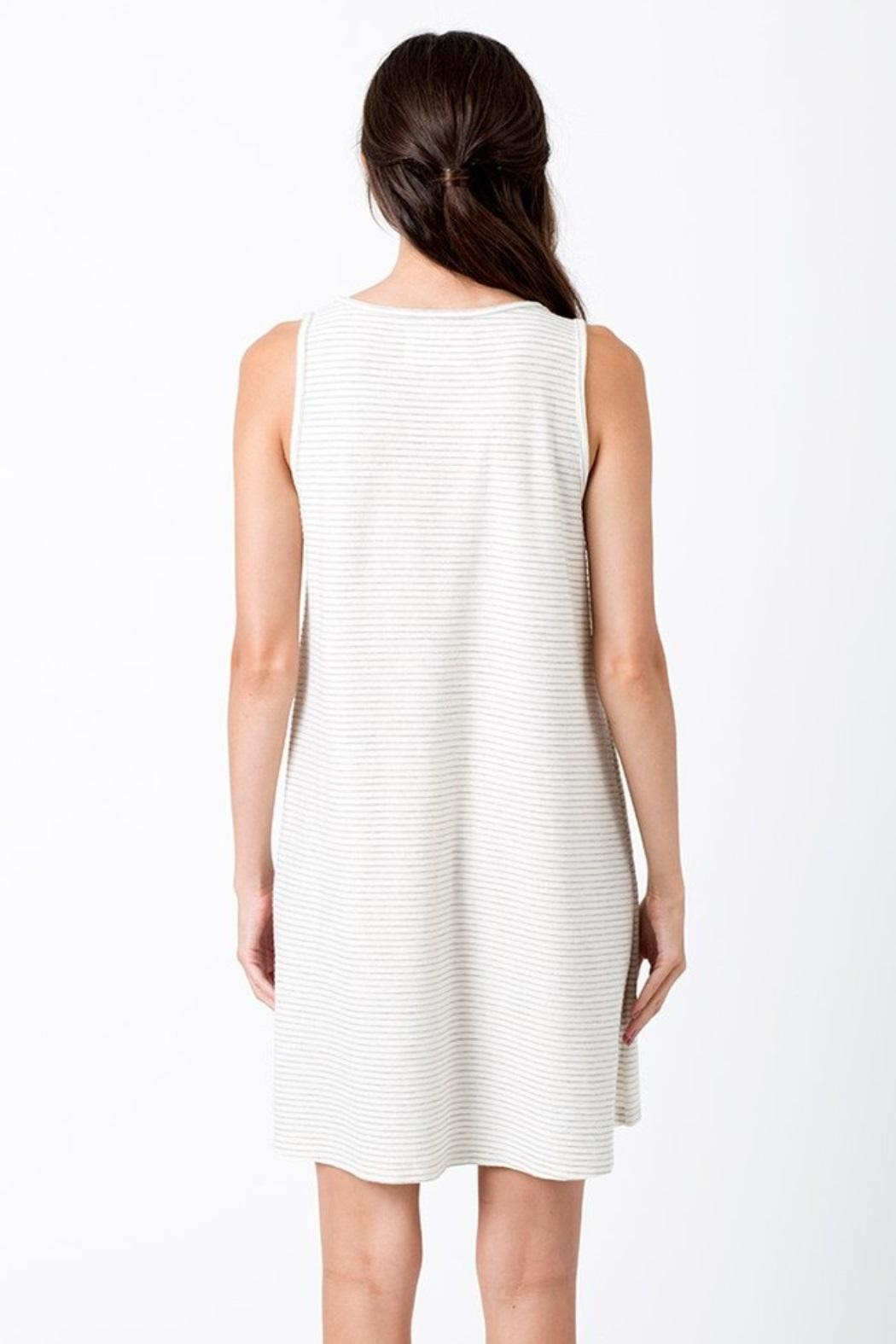 Sol Angeles Asymmetrical Dress - Side Cropped Image
