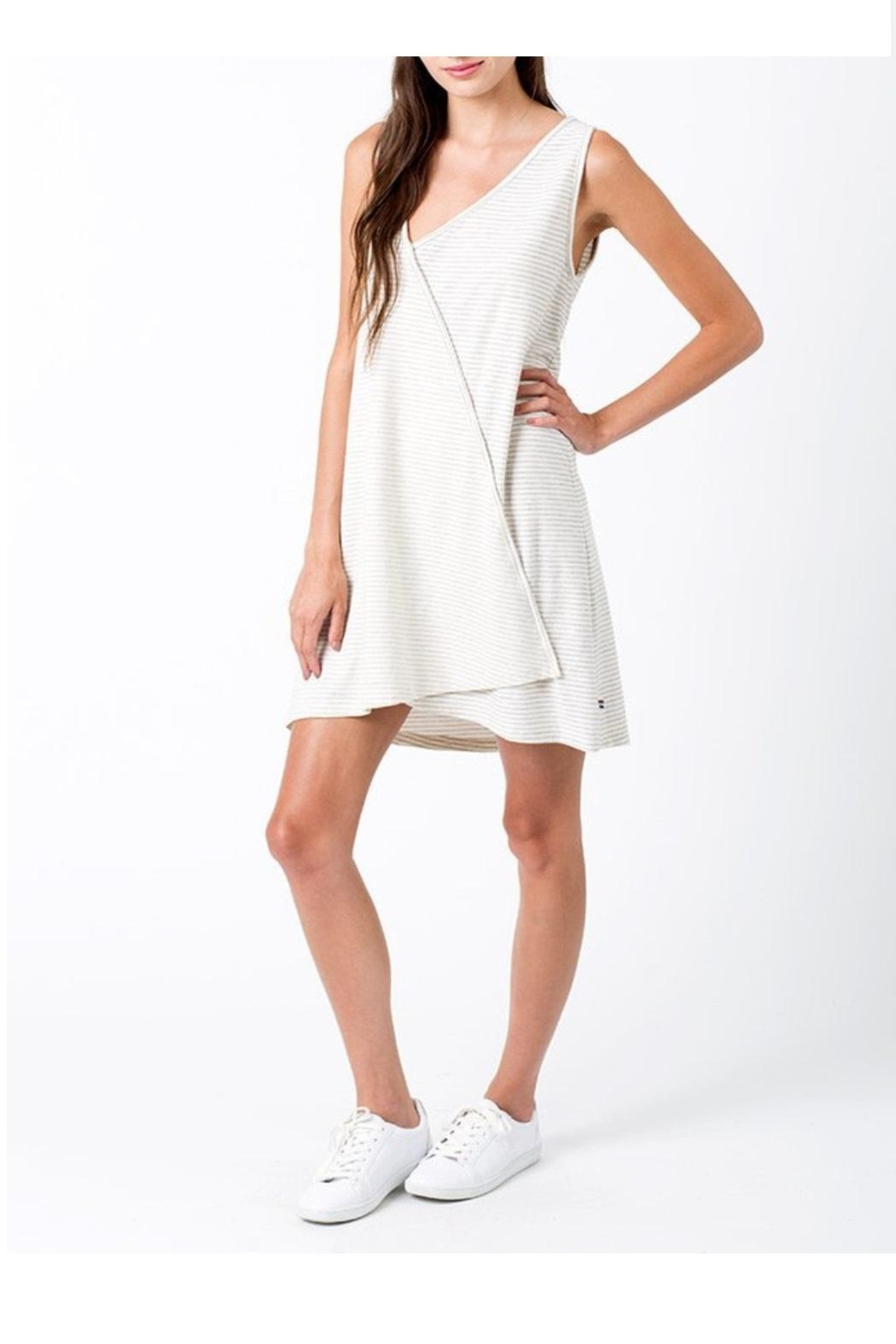 Sol Angeles Asymmetrical Dress - Front Full Image
