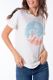 Sol Angeles Le Ski Tee - Front cropped